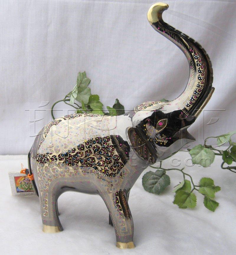 印度手工精雕大象