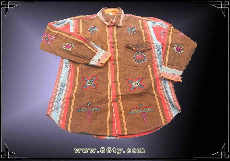 尼泊尔手工绣花衣服