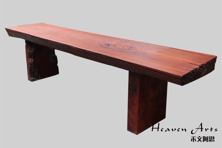 简爱-红木桌子