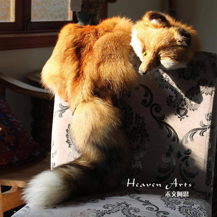 狐狸皮草围巾