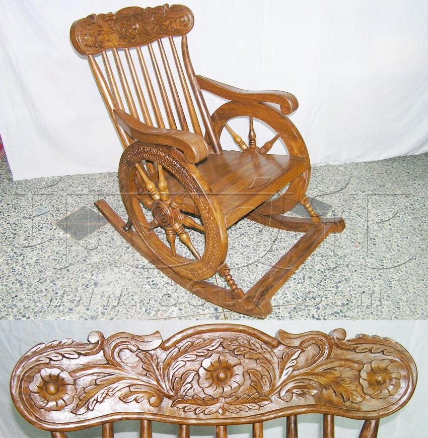 印度酸枝木雕花椅子