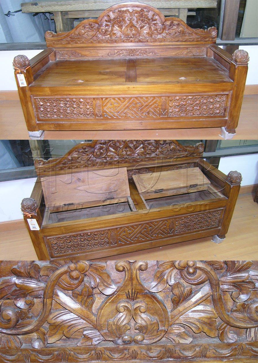 印度手工木雕椅子(柚木)